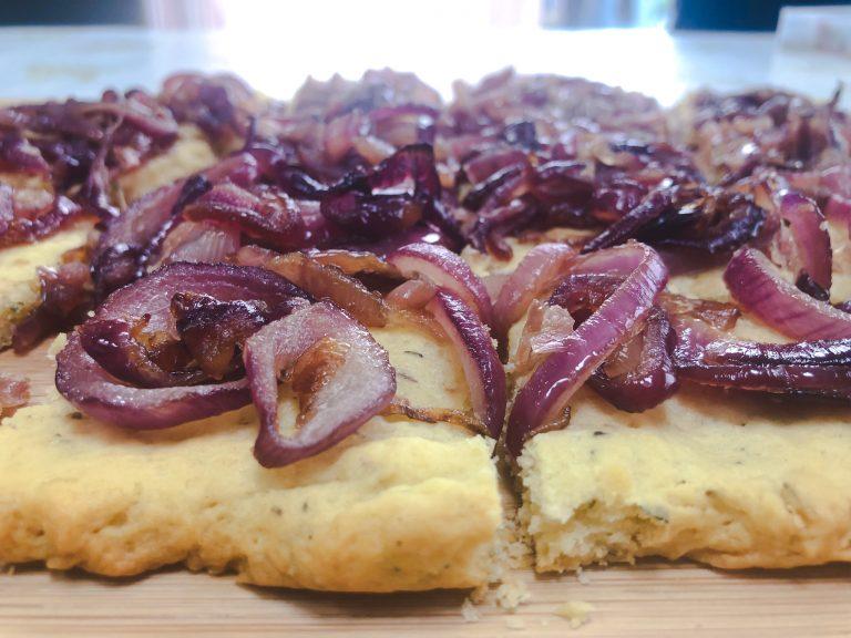 Caramelised Onion Flat Bread