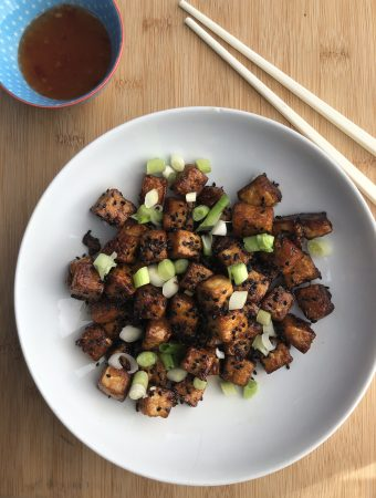 Twice Fried Tofu